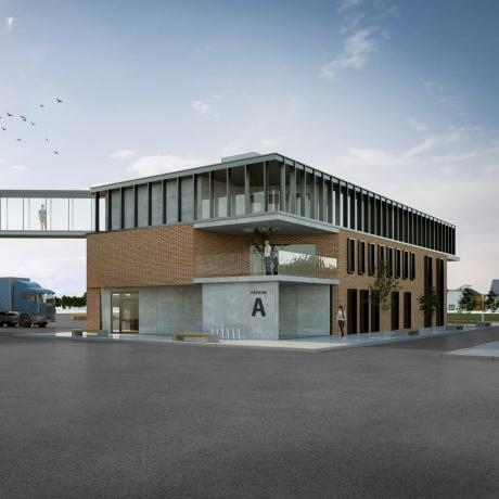 1. Administrativní budova
